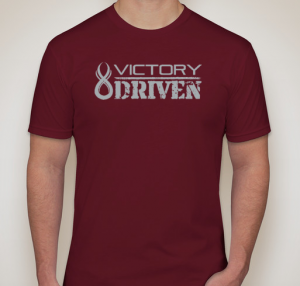 VICTORY DRIVEN - CARDINAL RED